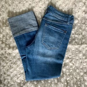 Cropped Ankle Cuffed Jeans 👖
